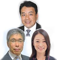 石川 剛 先生、江花 照夫 先生、吉野 優美 先生