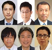 斉宮 康寛先生、尾崎 博弥先生、芝崎 龍典先生、白数 正義先生、廣瀬 麻里先生、布川 隆三先生